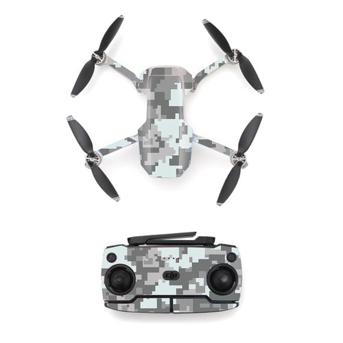 Camo Camouflage Style Skin Sticker for DJI Mavic Mini Drone And Remote Controller Decal Vinyl Skins Cover M0014