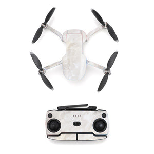 Marble Texture White Style Skin Sticker for DJI Mavic Mini Drone And Remote Controller
