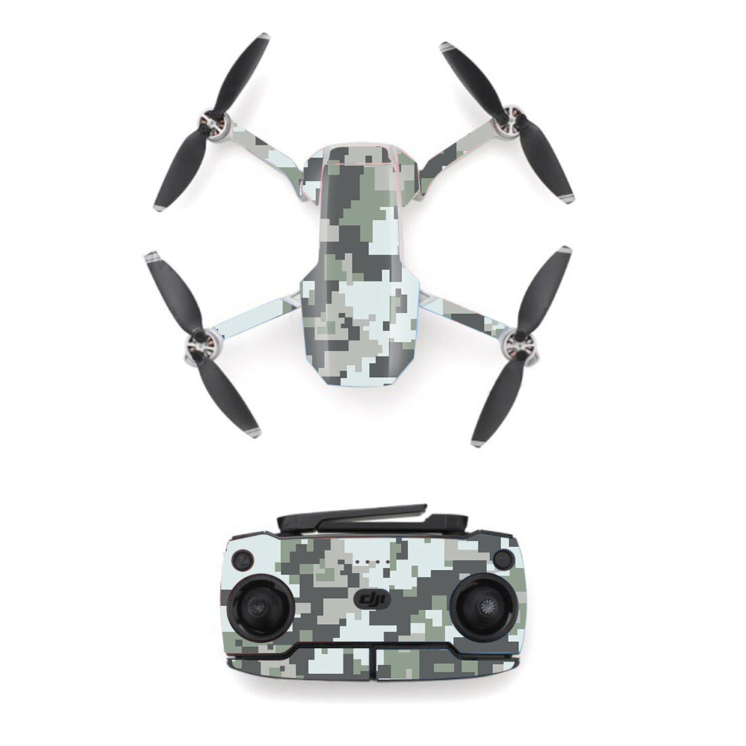 Camo Camouflage Style Skin Sticker for DJI Mavic Mini Drone And Remote Controller