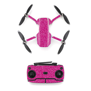 Pink Style Skin Sticker for DJI Mavic Mini Drone And Remote Controller Decal Vinyl Skins Cover M0052