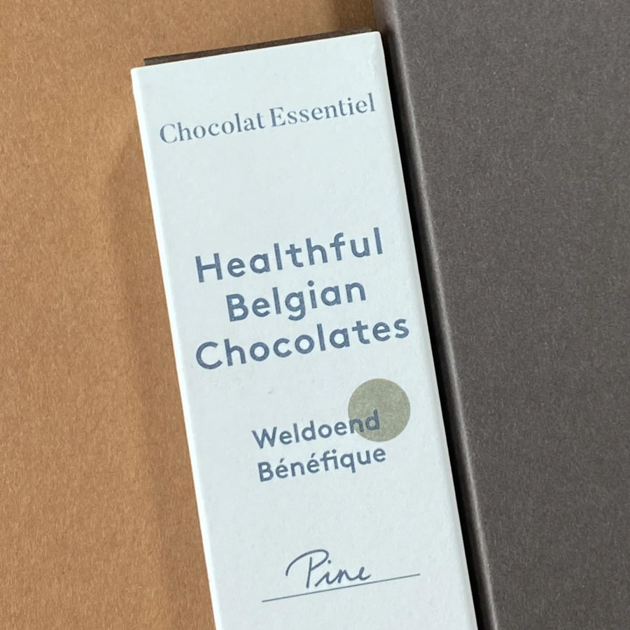 Healthful Belgian Chocolates van Chocolat Essentiel - Pine