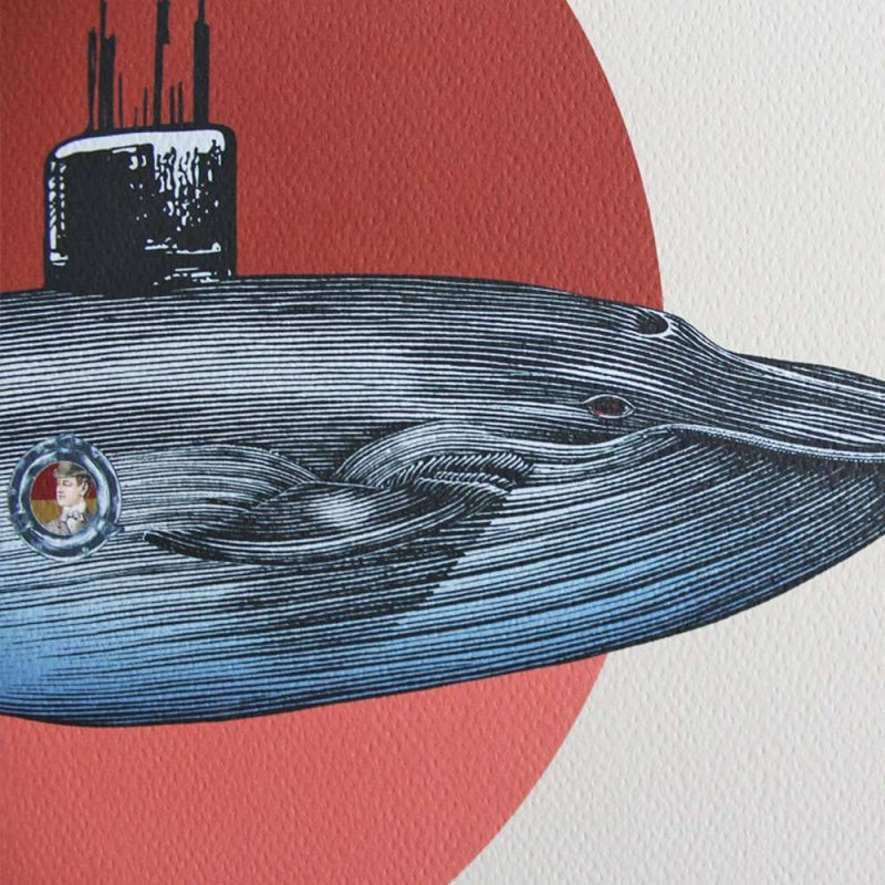 'The Whale' affiche van Pochette Square.
