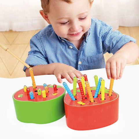 Funny Baby Catch Worm Toys