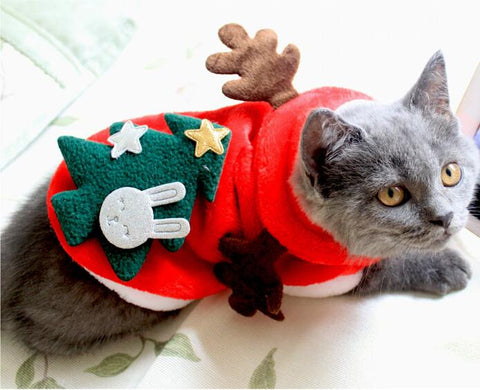 Funny Christmas Dog Cat Clothes