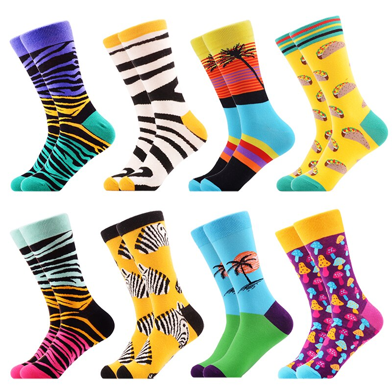 Cool Mens Colorful Socks