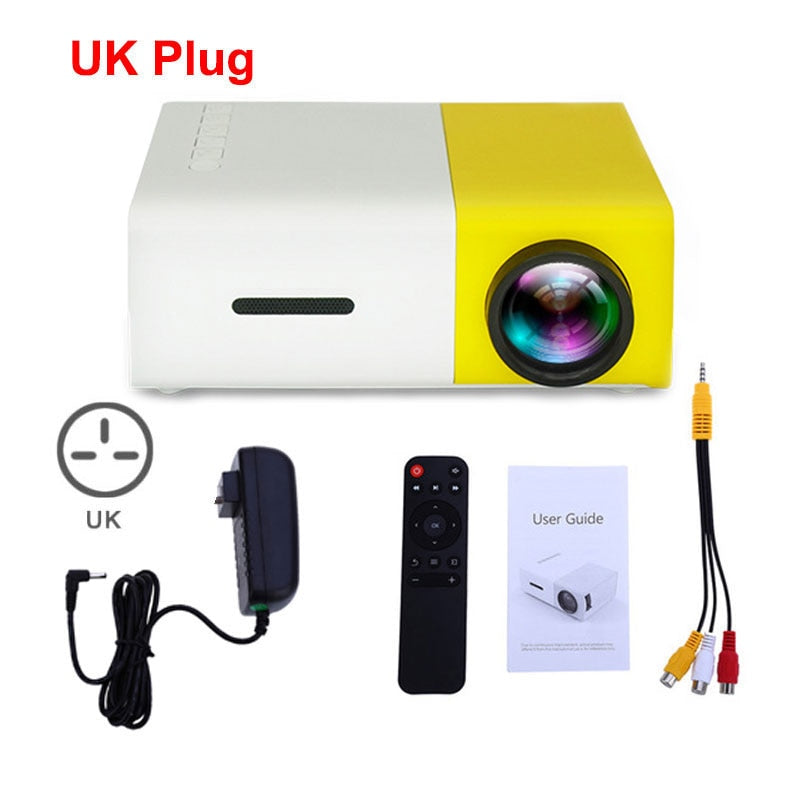 Mini Pocket HD Projector