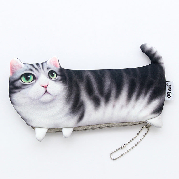 Kawaii Cat Pencil Case Bag