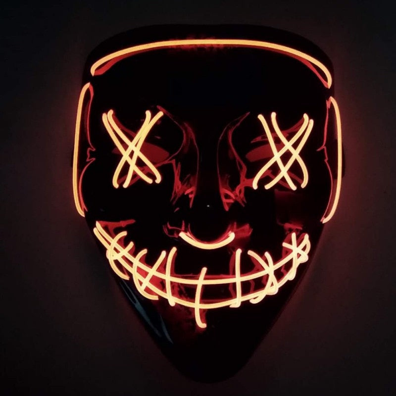 Awesome Halloween Party Spooky LED Mask