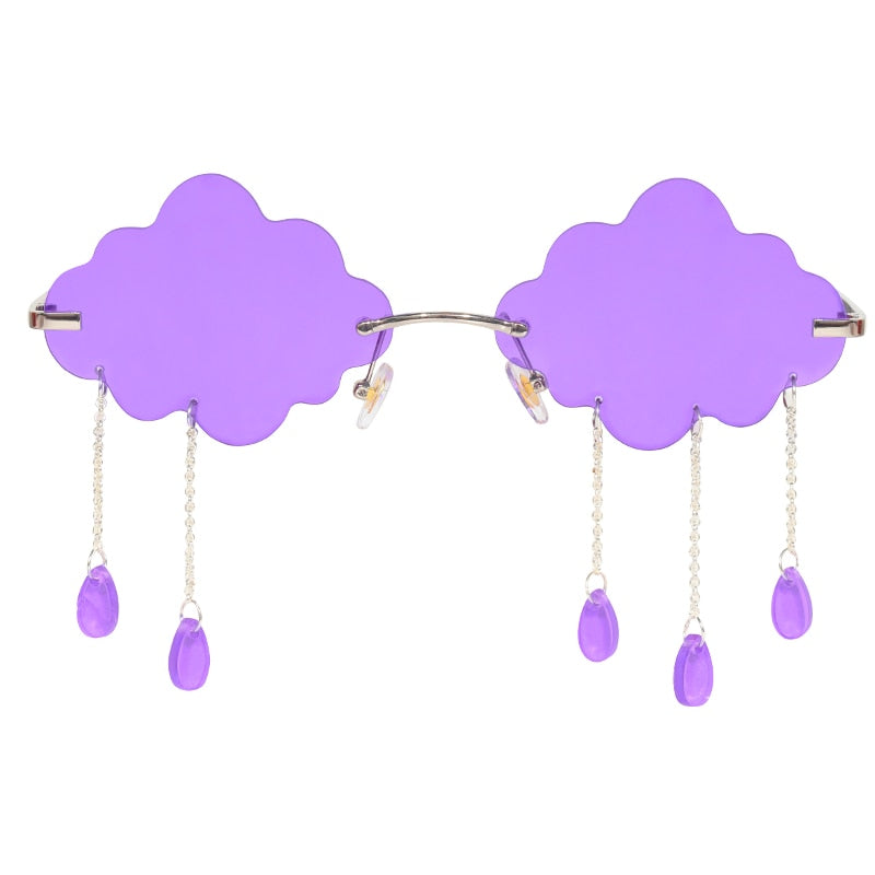 Clouds Raindrop Sunglasses