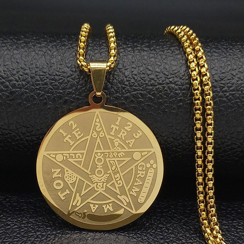 Witchcraft Pentagram Necklaces