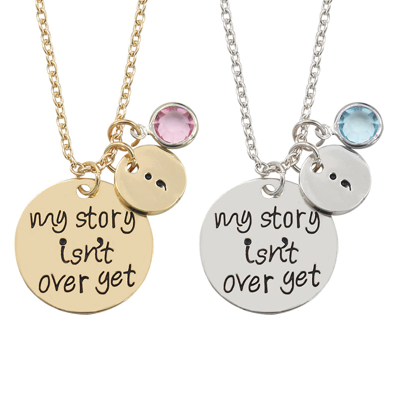 "Cool Necklace ""My Story Isn't Over Yet"""