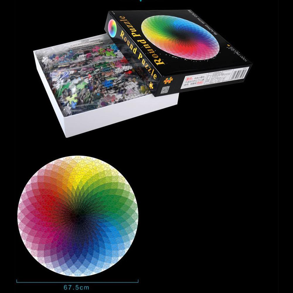 1000-Piece Color Rainbow Puzzle