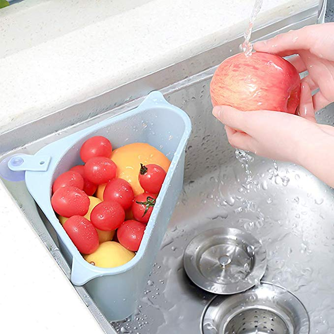 Super Practical Kitchen Triangular Sink Strainer