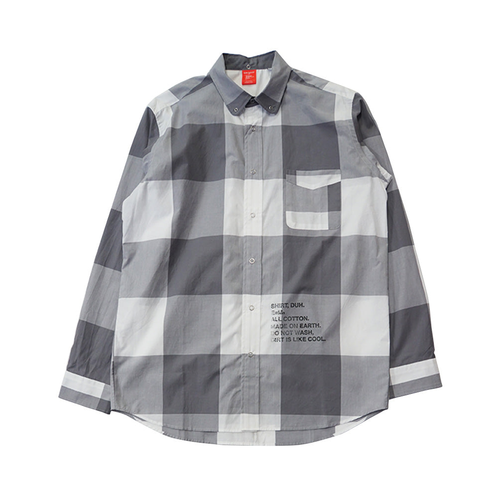 BIG GINGHAM L/S SHIRT