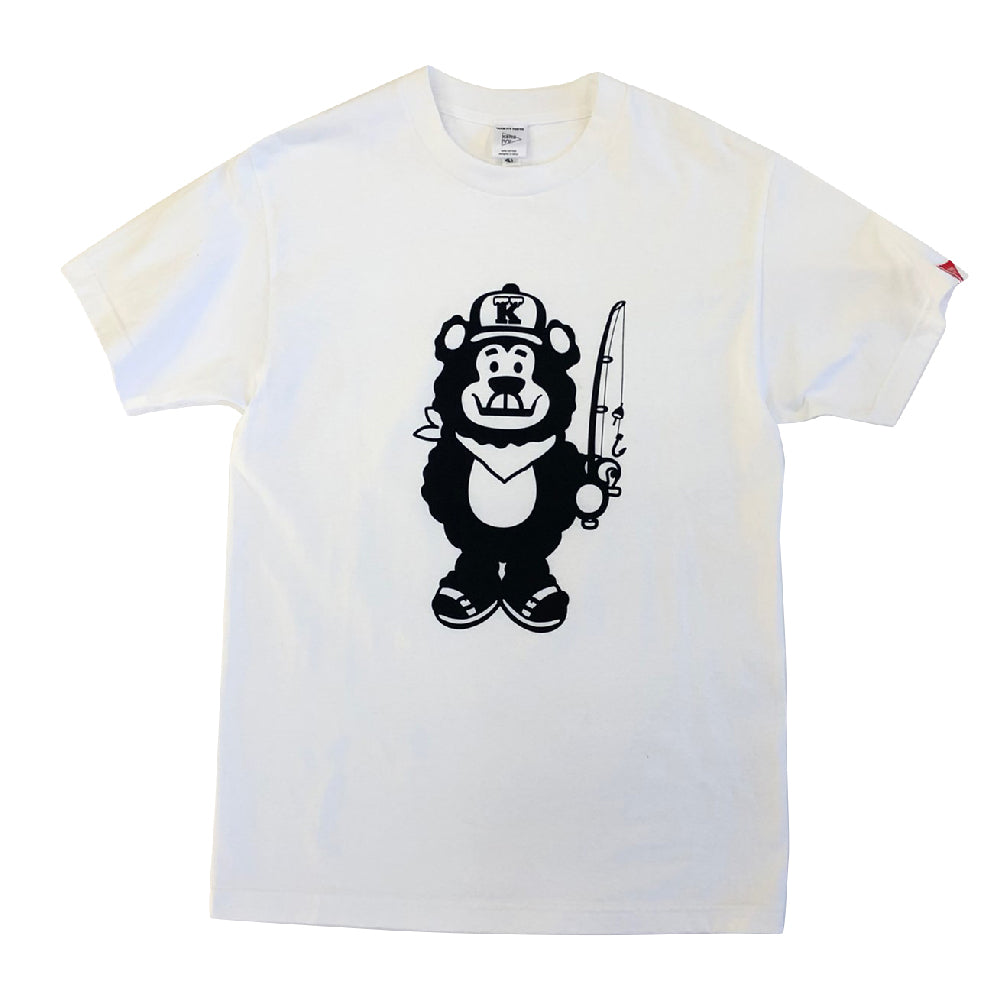 FISHING BEAR BOY S/S TEE