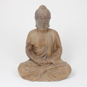 ceramic sitting buddha