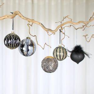 black bauble collection