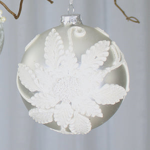 white bauble collection