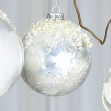 Load image into Gallery viewer, white bauble collection