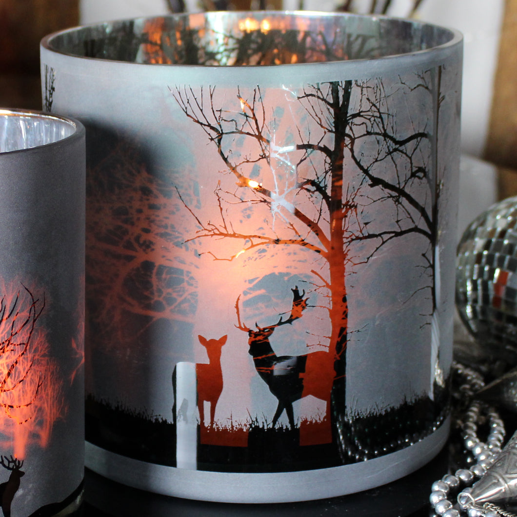 stag hurricane lanterns