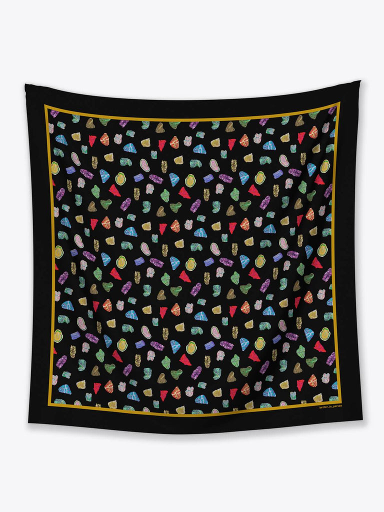 Better in Person Ronit Silk Scarf - Moxie Tel-Aviv