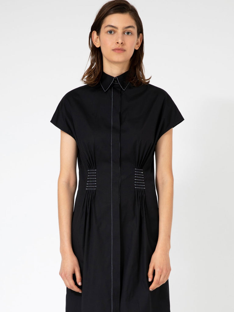 Hannah Julia Black Dress - Moxie Tel-Aviv
