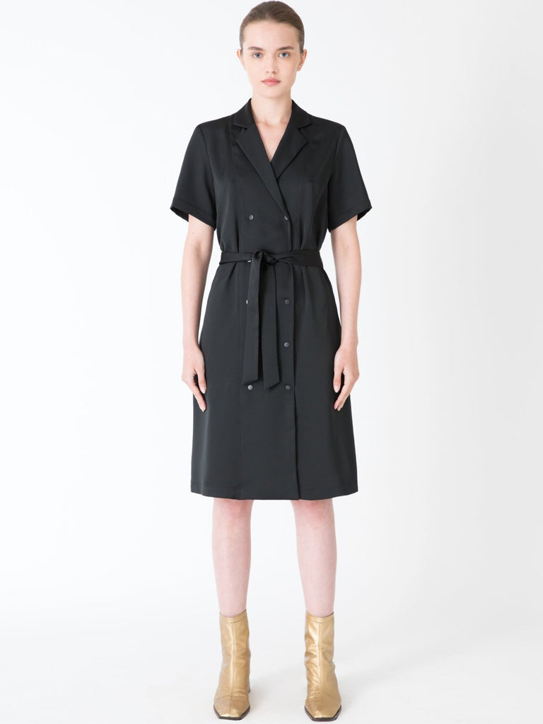 Hannah Kyoto Black Dress - Moxie Tel-Aviv