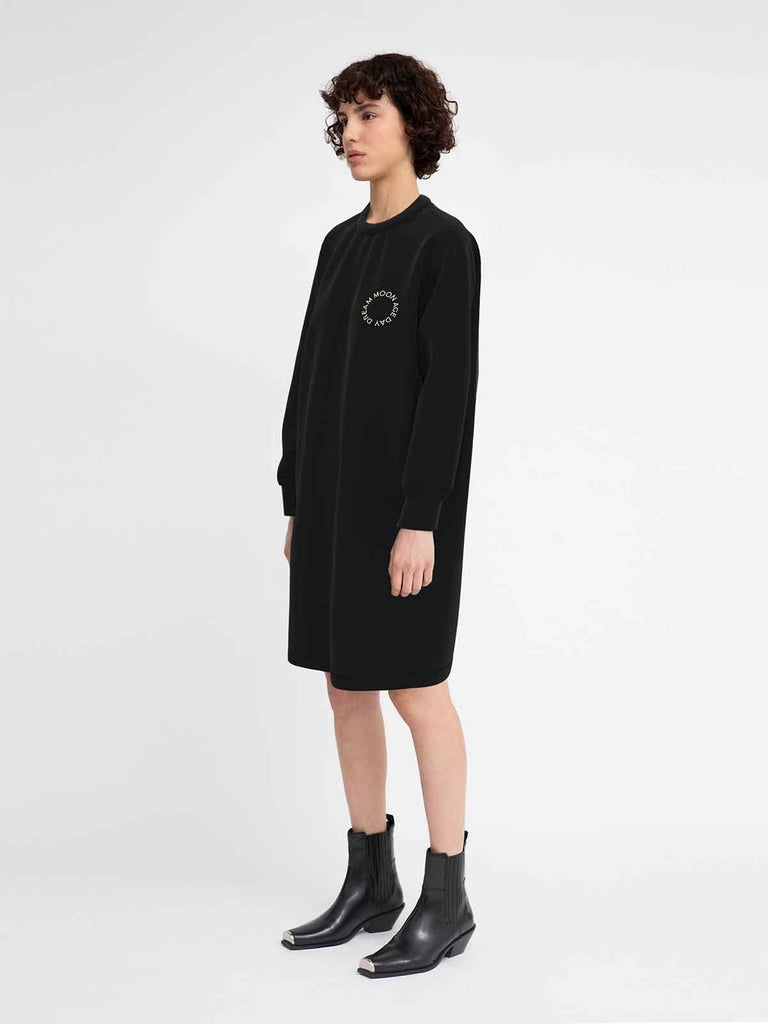 Hannah Moon Age Dress - Black - Moxie Tel-Aviv