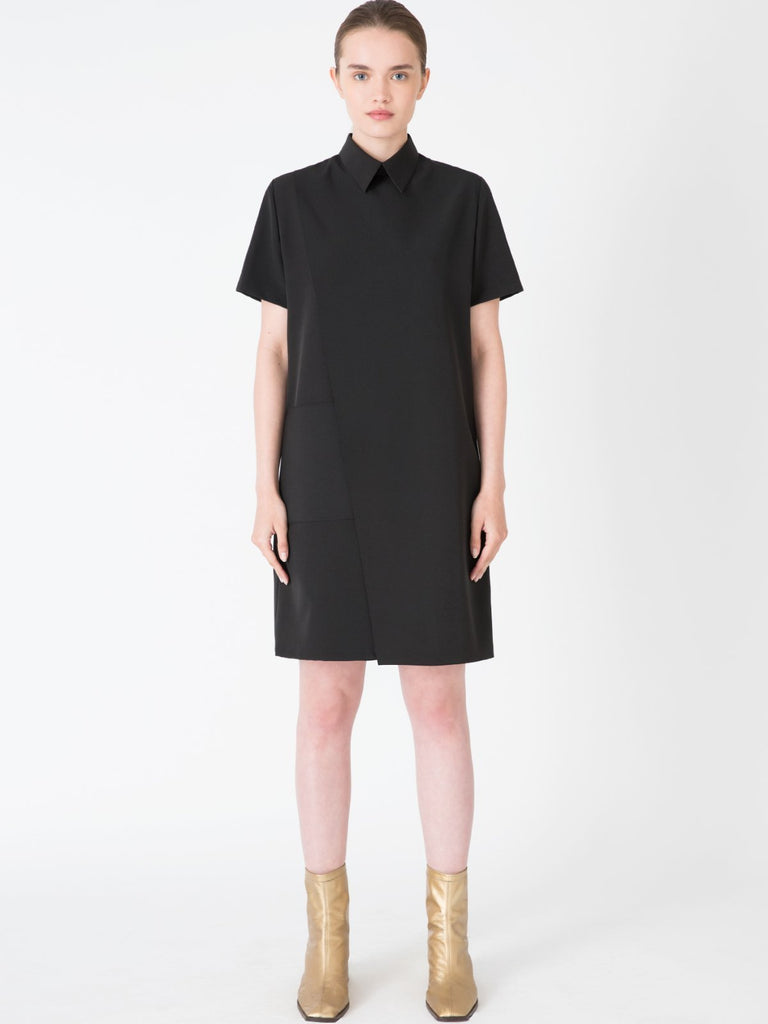 Hannah Nami Black Dress - Moxie Tel-Aviv