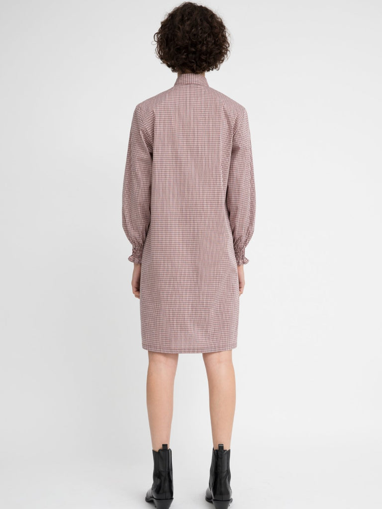 Hannah Sophie Checkered Dress - Moxie Tel-Aviv