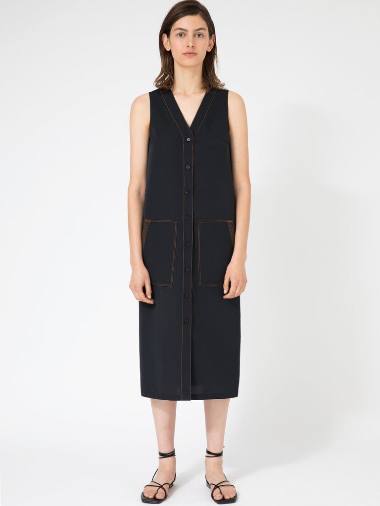 Hannah Zoe Black Dress - Moxie Tel-Aviv