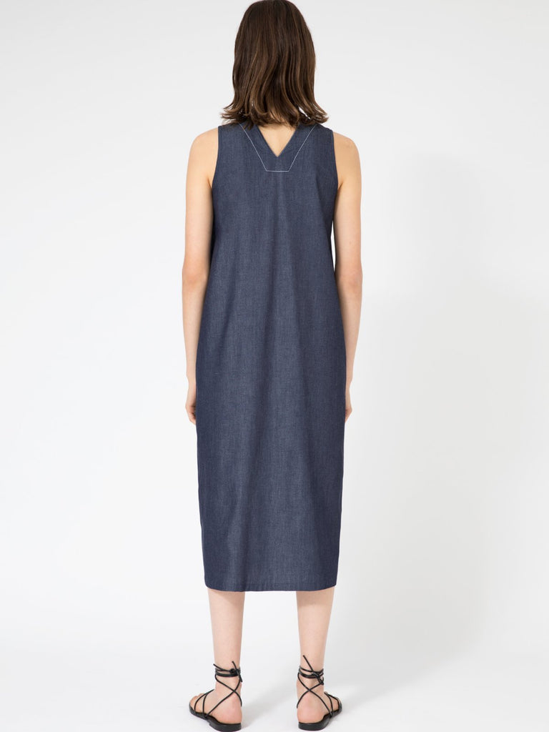 Hannah Zoe Denim Dress - Moxie Tel-Aviv