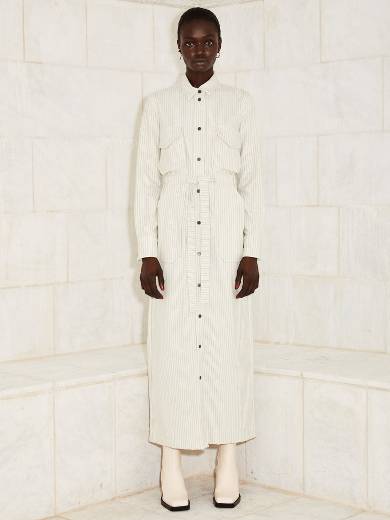 Julliett Jill Dress/Jacket - Off White - Moxie Tel-Aviv