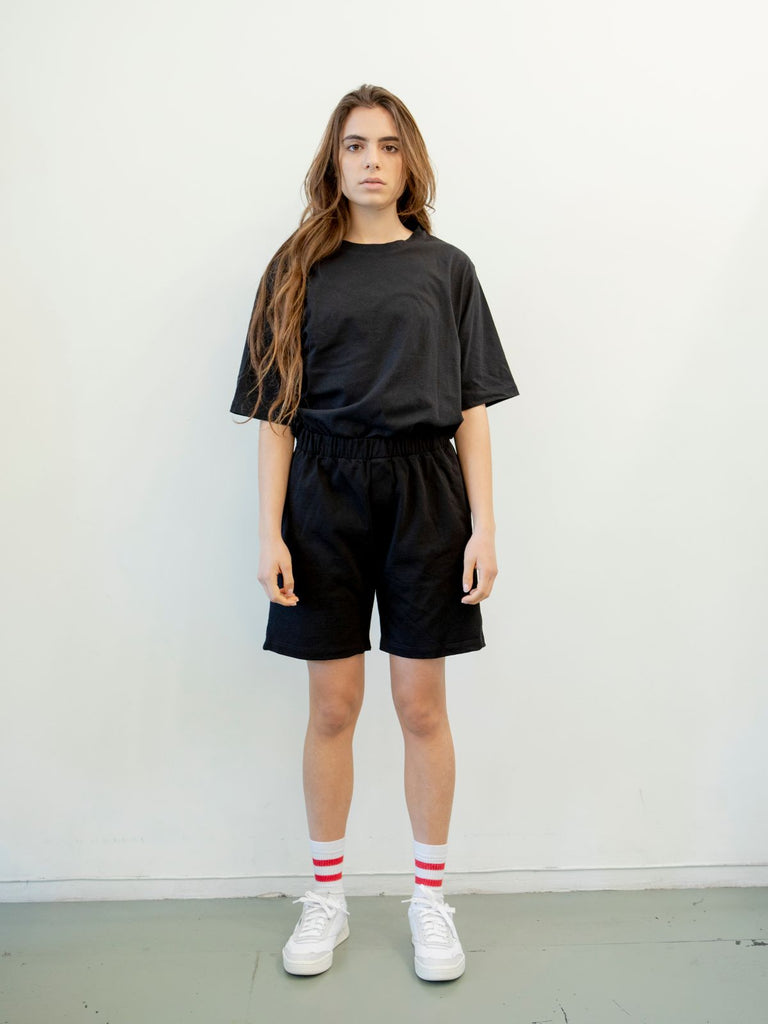 Maya Bash Black Grandpa Shorts - Moxie Tel-Aviv