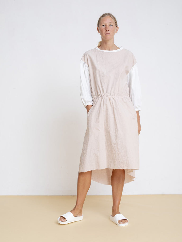 Maya Bash Light Pink Dress with Balloon Sleeves - Moxie Tel-Aviv