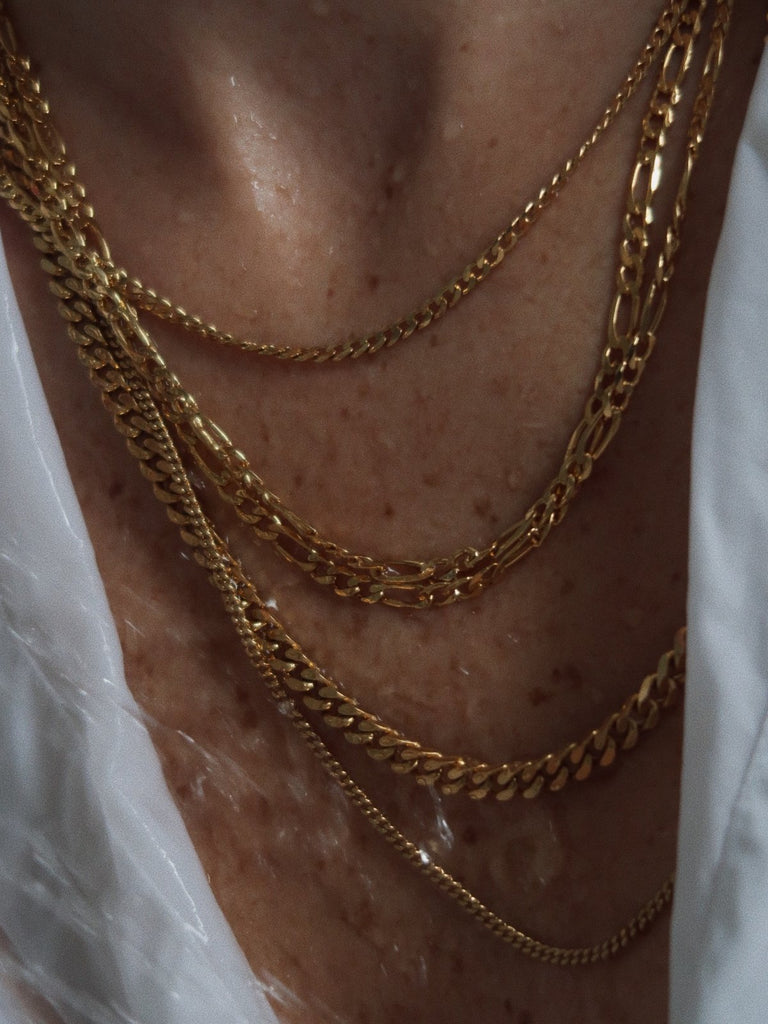 Michal Ben-Ami Figaro Chain Necklace M - Gold - Moxie Tel-Aviv
