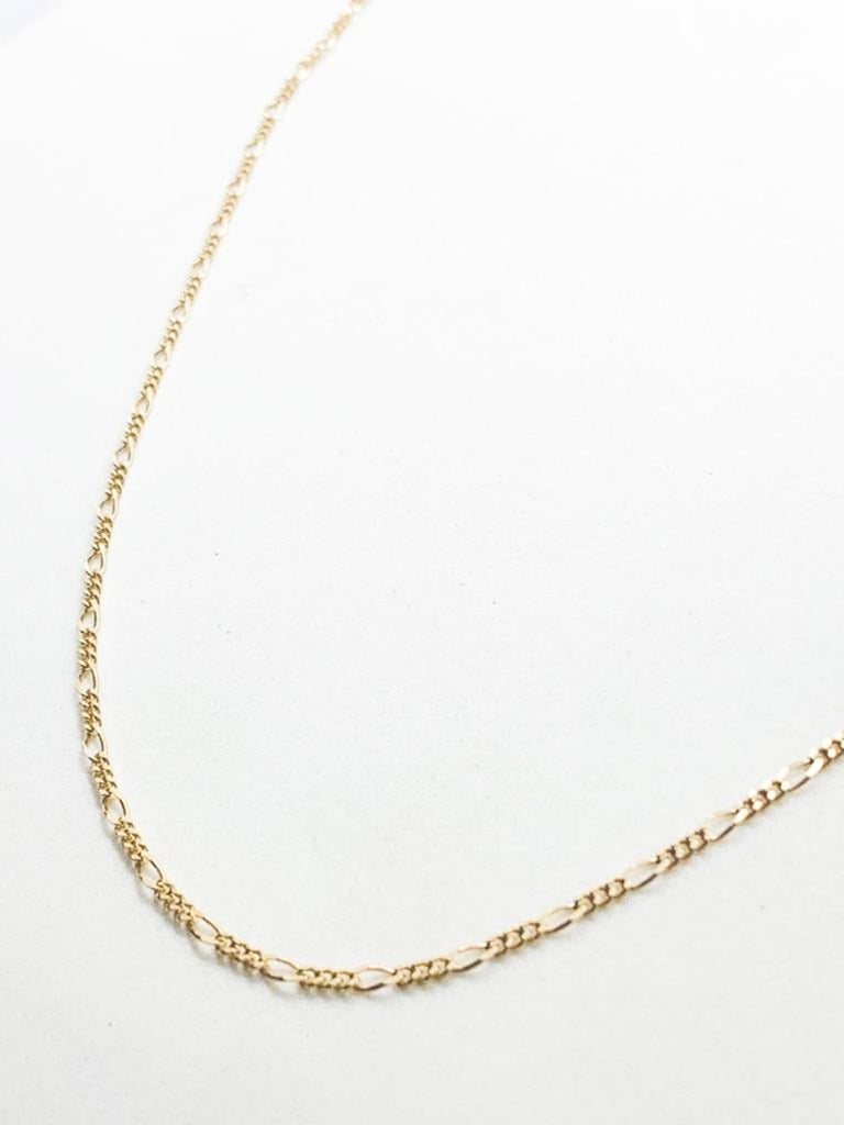 Michal Ben-Ami Gourmette Necklace XS - Gold - Moxie Tel-Aviv