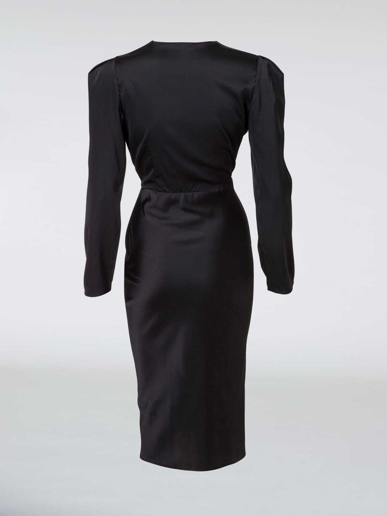 Mother Of All Dora Dress - Black - Moxie Tel-Aviv