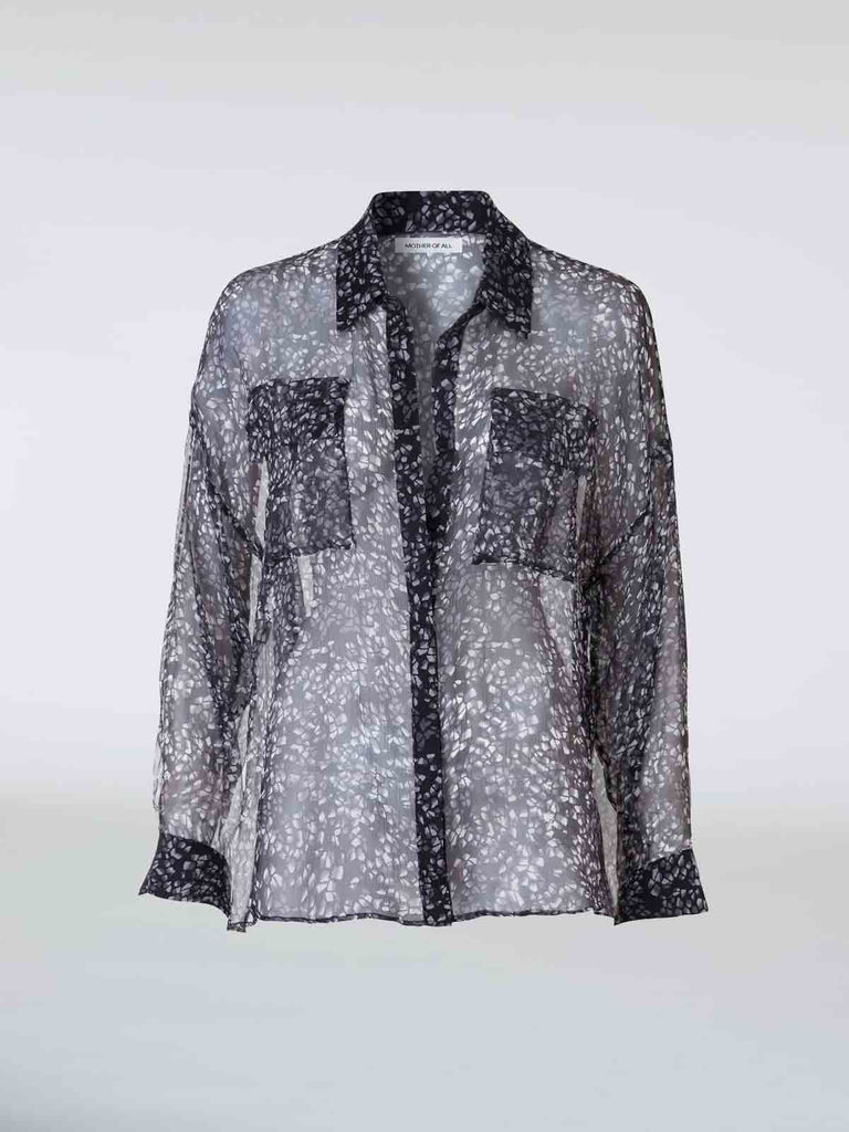 Mother Of All Victoria Silk Shirt - Moxie Tel-Aviv