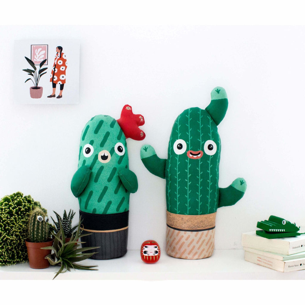 Nama Fred The Cacti Plush Toy, Soft Plant - Moxie Tel-Aviv