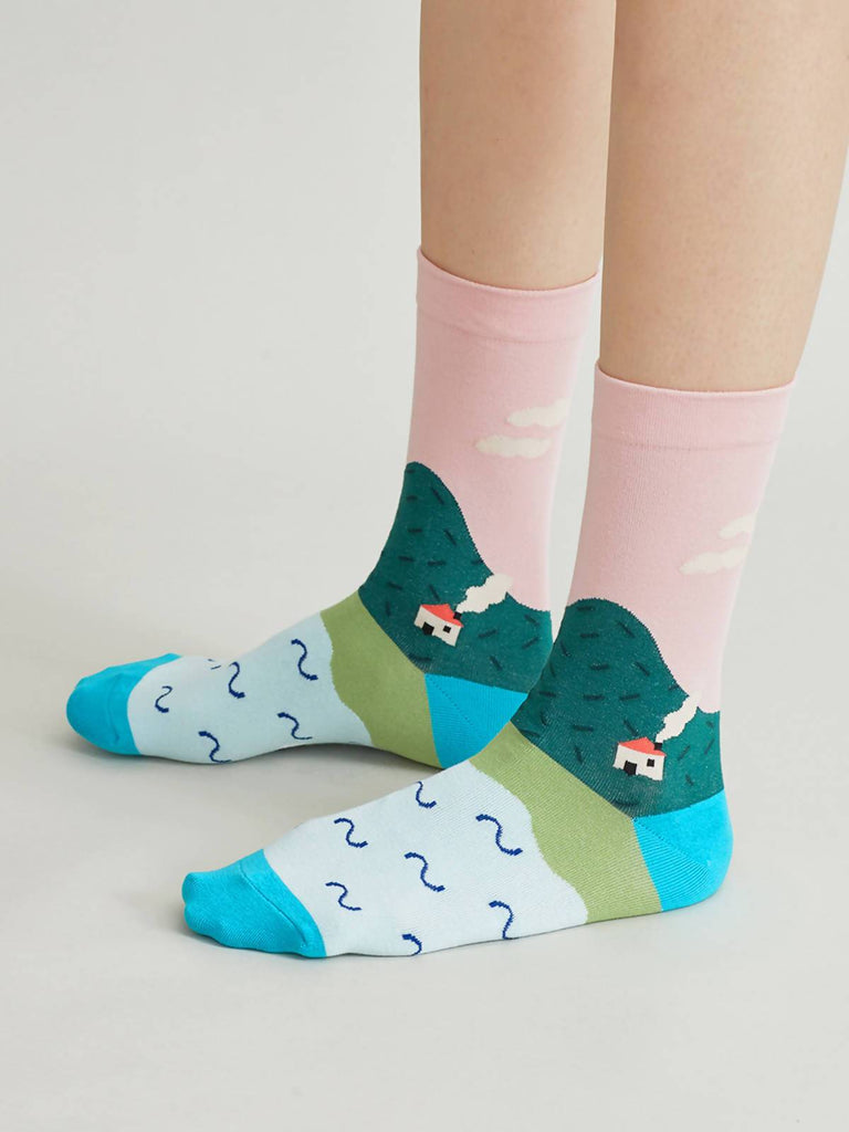 Nama PICNIC - The Secret Garden Socks Collection - Moxie Tel-Aviv