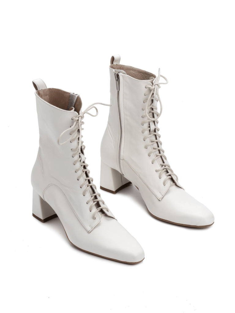 Noon Disco Lace Up Boots - Moxie Tel-Aviv