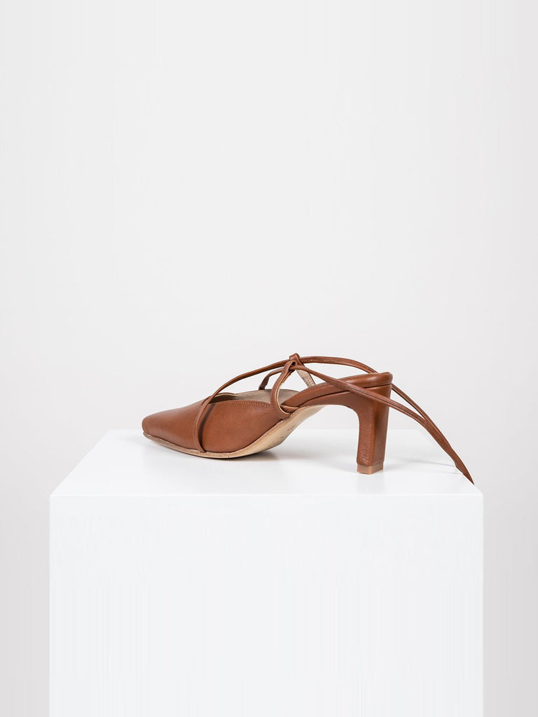 Noon Dress Up Pumps - Brandy - Moxie Tel-Aviv