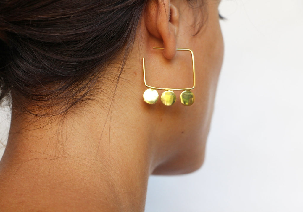 Reggie Emily Earrings - Moxie Tel-Aviv