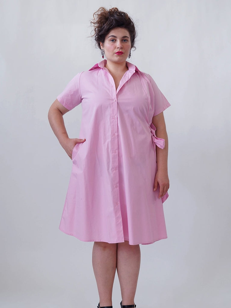Shahar Avnet Licorice Dress - Light Pink - Moxie Tel-Aviv