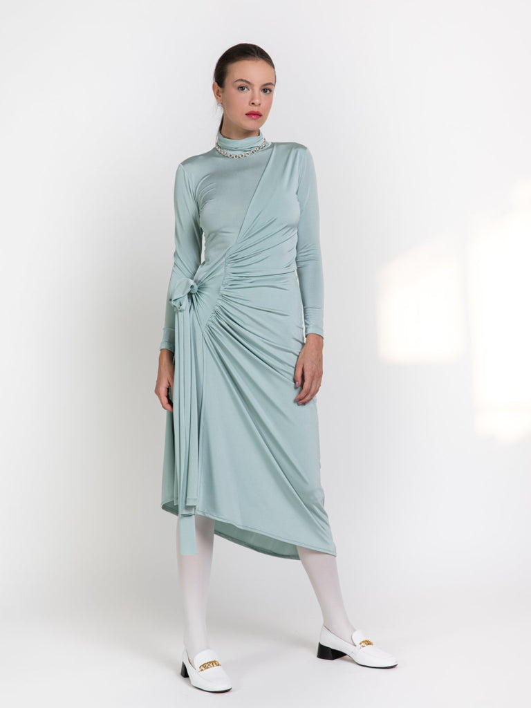 Shahar Avnet Ocean Dress - Mint - Moxie Tel-Aviv