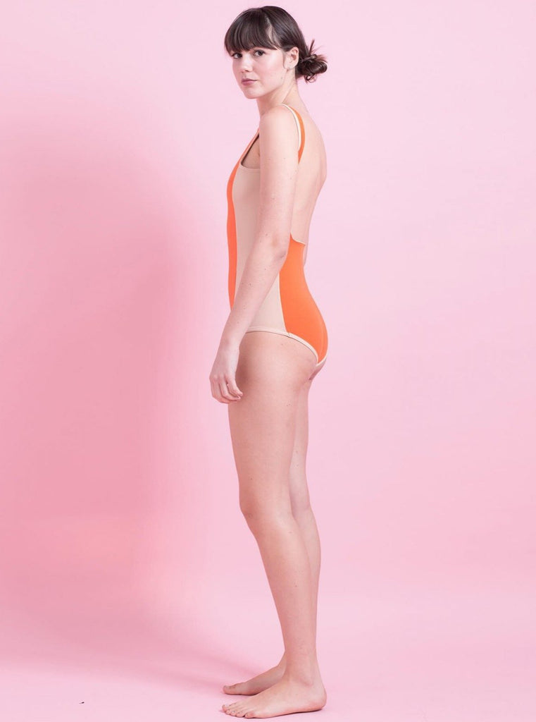 Tutu.B Isabel Orange One-Piece - Moxie Tel-Aviv