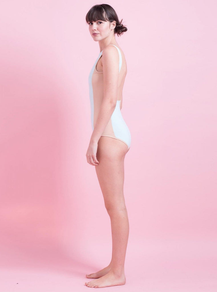 Tutu.B Isabel Pastel Light Green One-Piece - Moxie Tel-Aviv