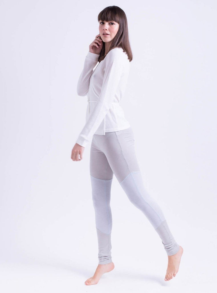 Tutu.B Jemma Grey/Light Blue Leggings - Moxie Tel-Aviv