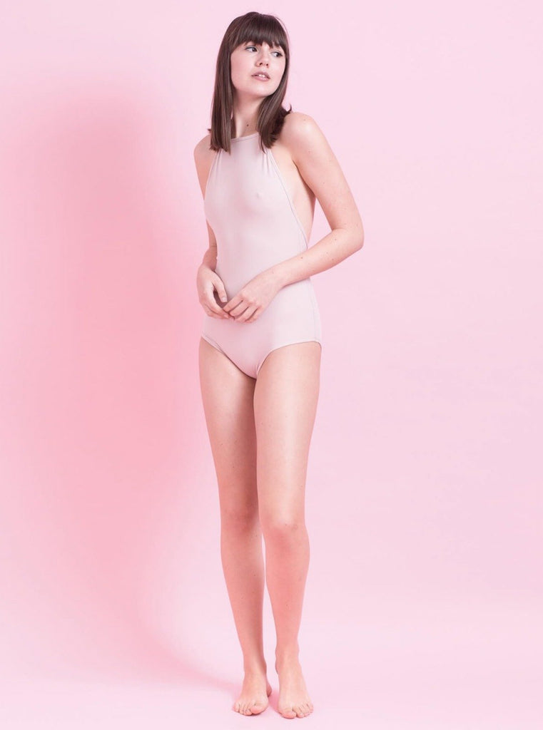 Tutu.B Liv Light Pink One-Piece - Moxie Tel-Aviv